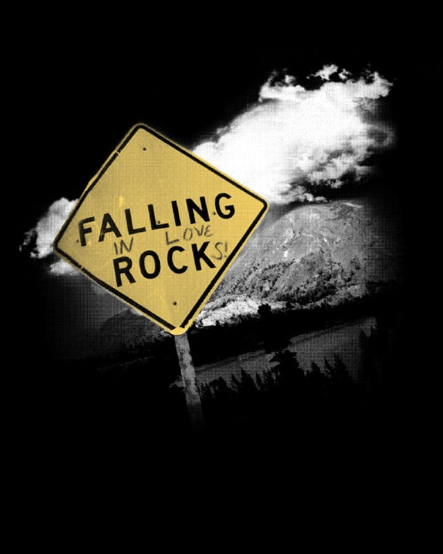 Falling (in love) Rocks by digsy on Threadless