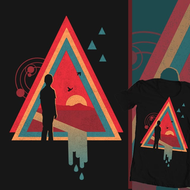 Stare into the Sun by thechild on Threadless