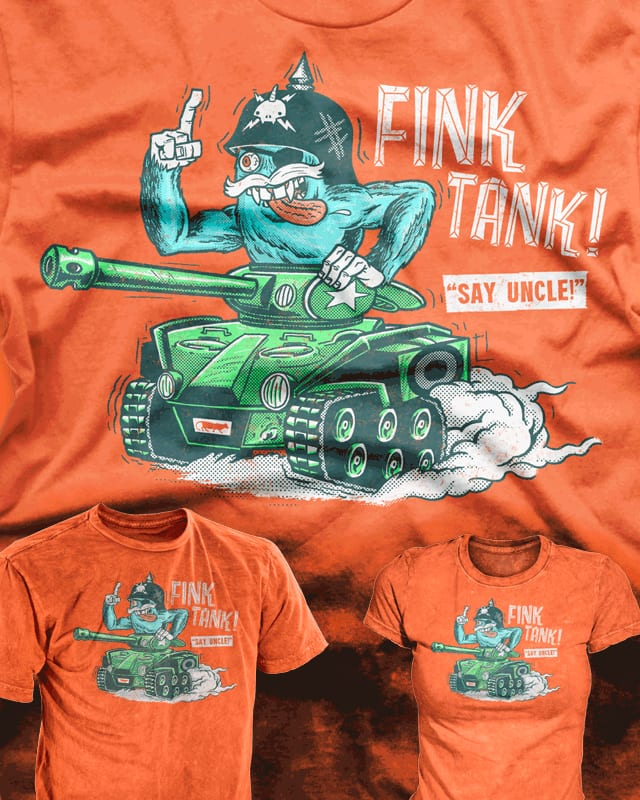 Fink Tank! by r.o.b.o.t.i.c.octopus on Threadless