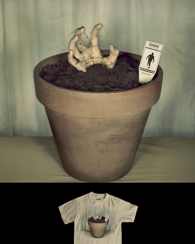 Zombie Plant by murraymullet on Threadless
