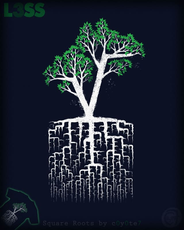 Square Roots by c0y0te7 on Threadless