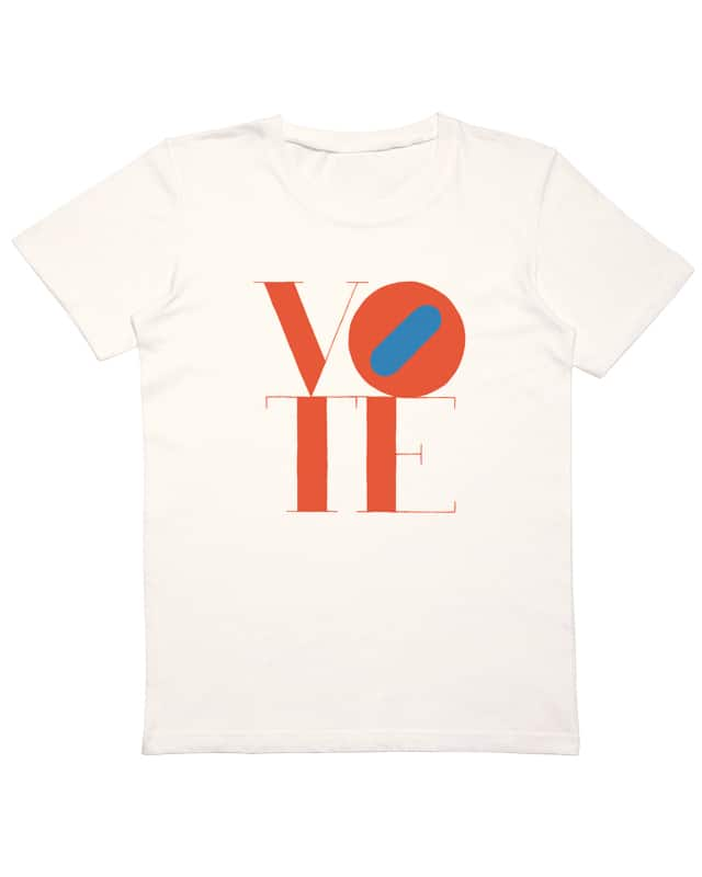 VOTE by studiofolk on Threadless