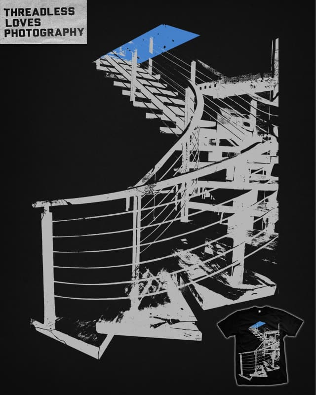 A Flight Of Steps by iamrobman on Threadless