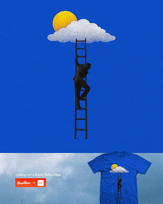 Looking For A Bright Yellow Hope by rizkisyahril on Threadless