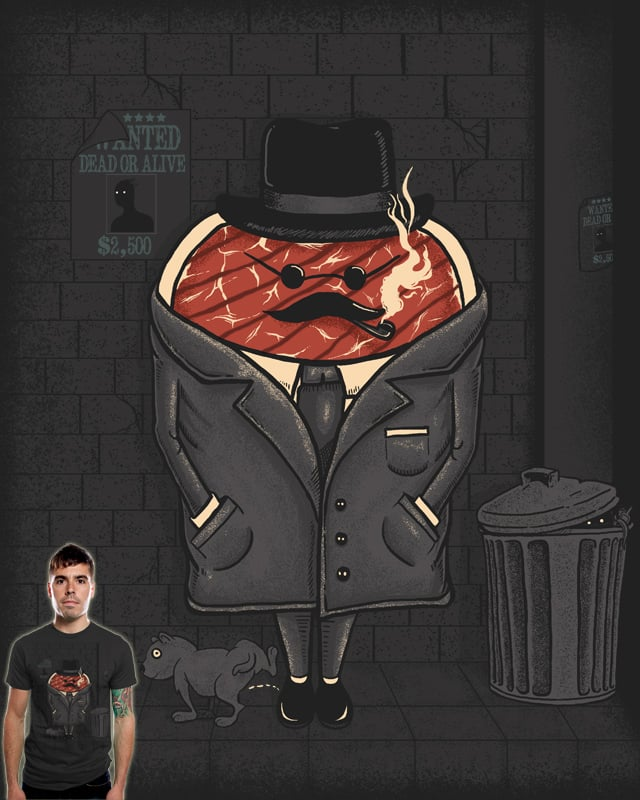 Steak out by TenTimesKarma on Threadless