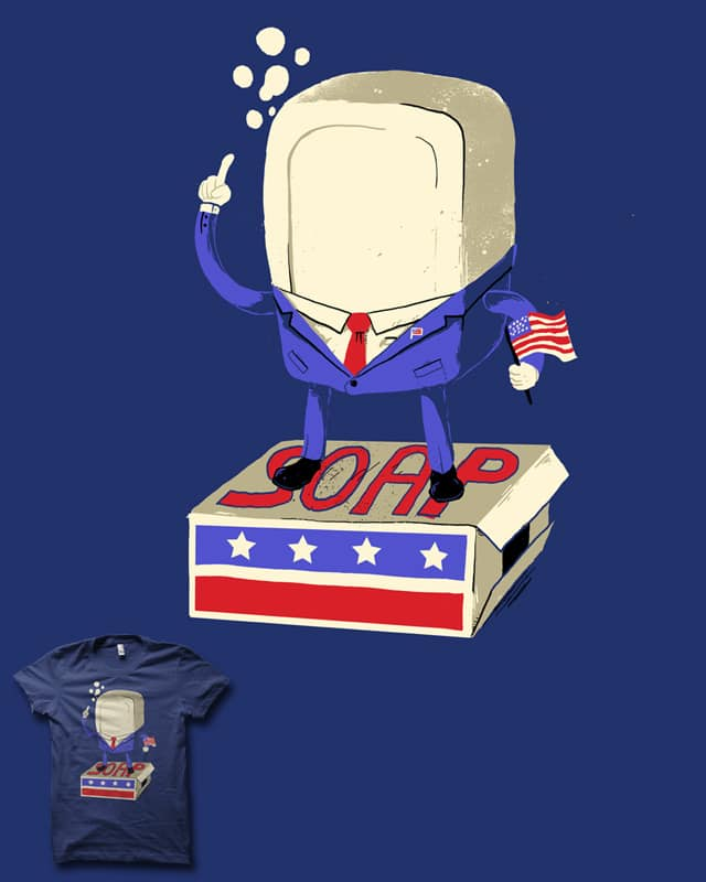 Standing on his Soapbox by biotwist on Threadless