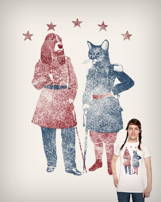 Cats or Dogs by hikay on Threadless