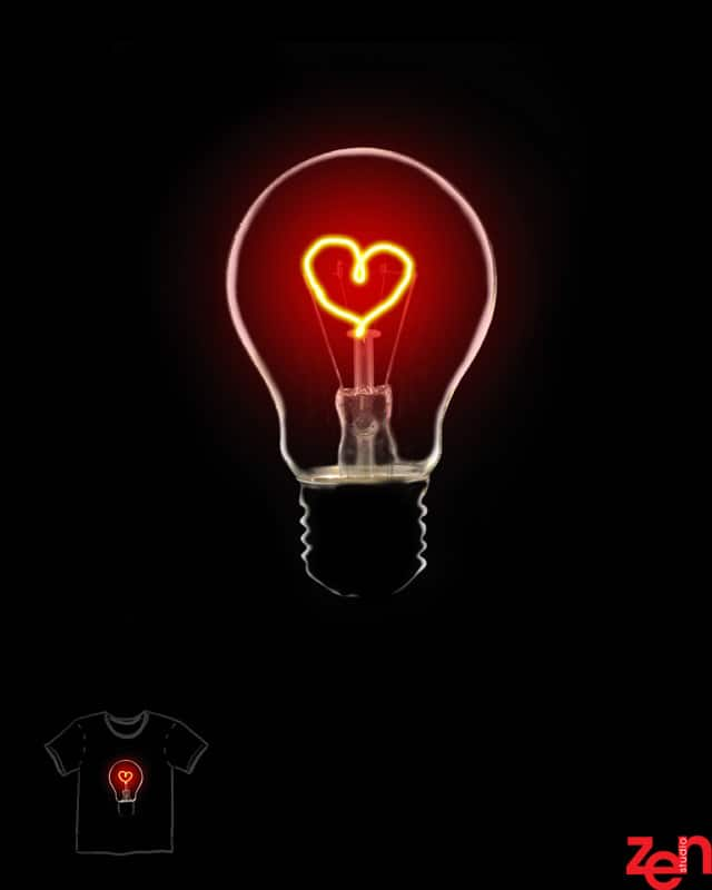 Light Up The Love by Zen Studio on Threadless