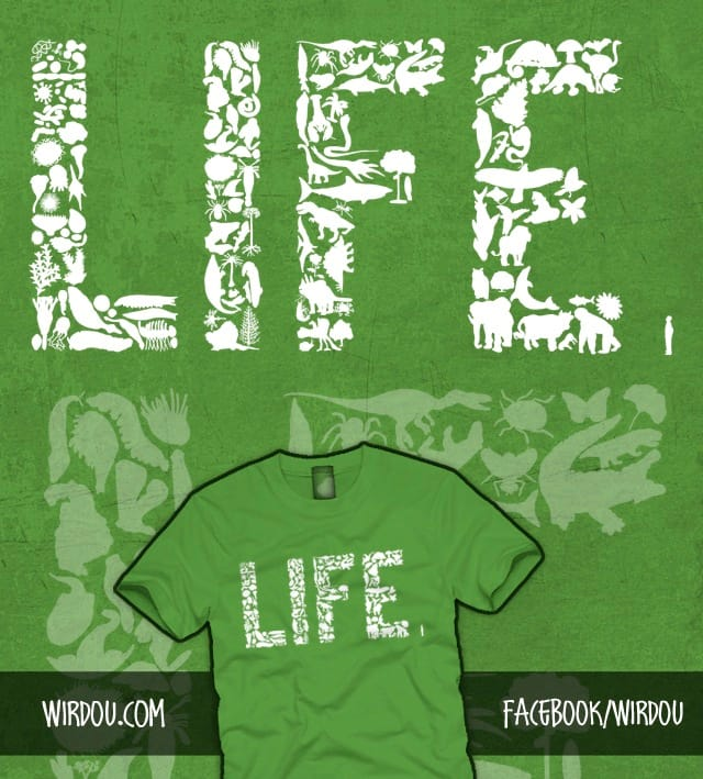 History of LIFE by Wirdou on Threadless