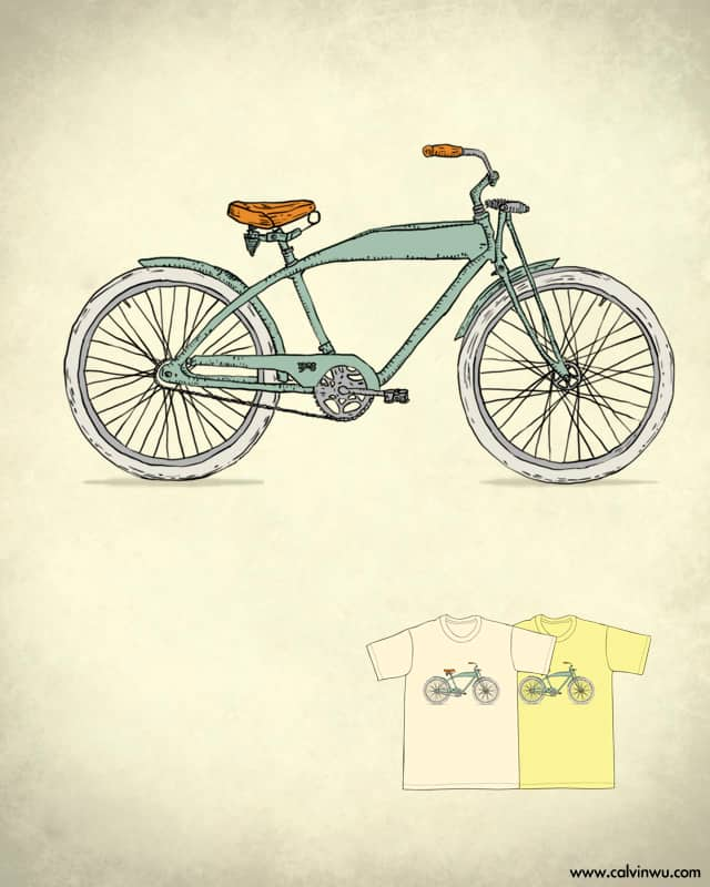 Retro-bicycles by Calvin Wu on Threadless
