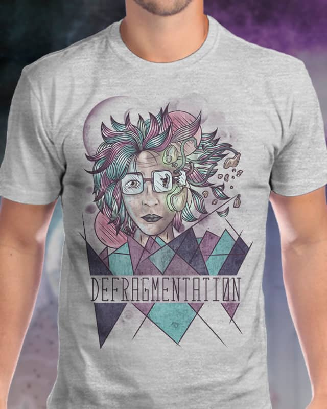 Defragmentation by otacoiza on Threadless