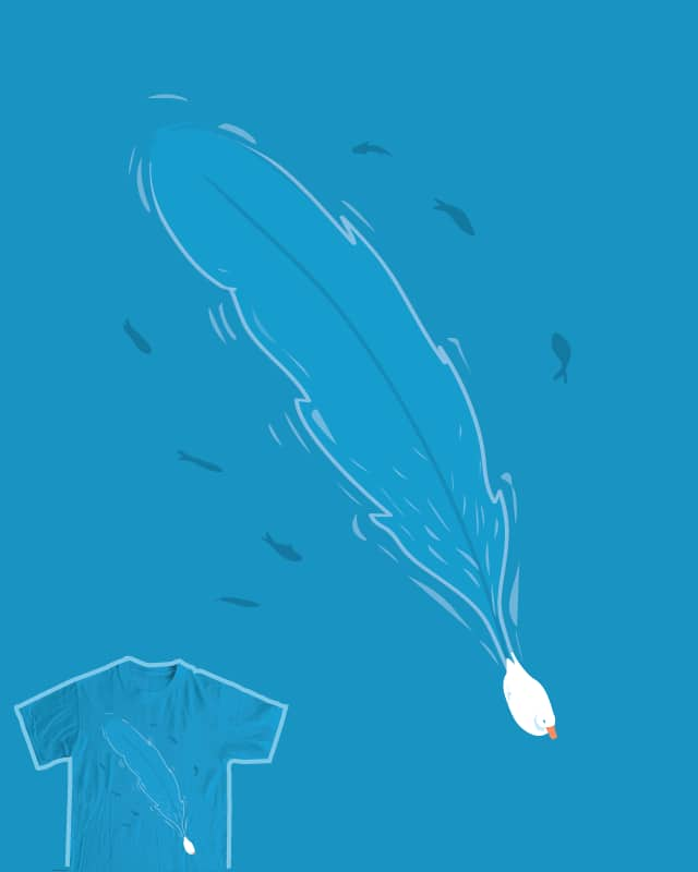 Featherwake by nathanwpyle at gmail.com on Threadless