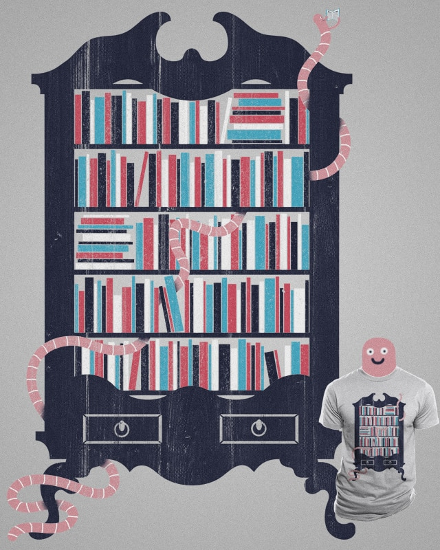 Bookworm by mockart on Threadless