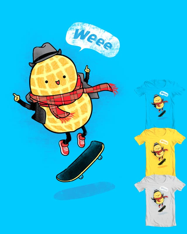 Hip-pea-ness by monkeypim on Threadless