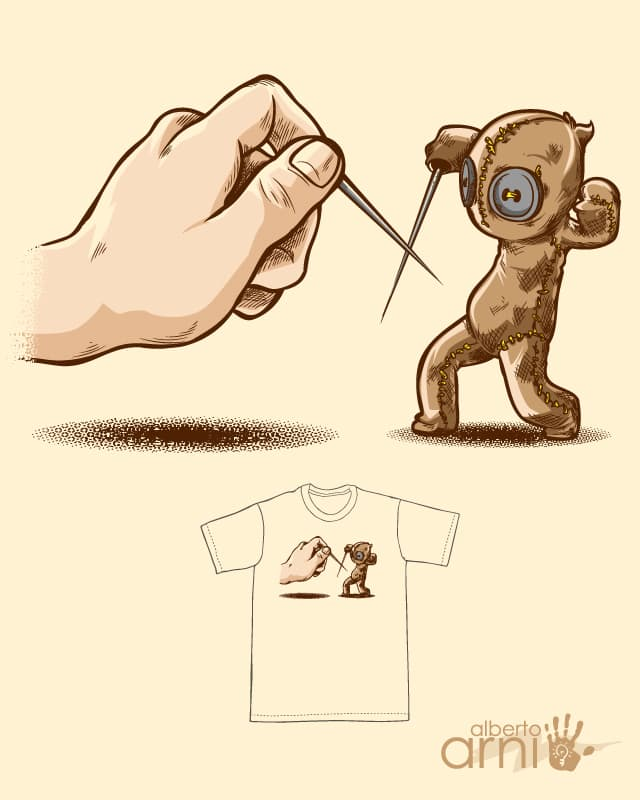 Fencing Voodoo by albertoarni on Threadless