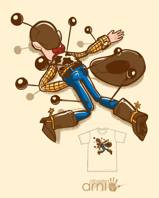 Woodoo by albertoarni on Threadless