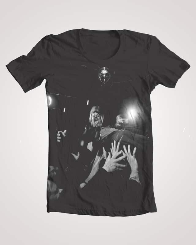 Crowd surf by AndyMonsterball on Threadless