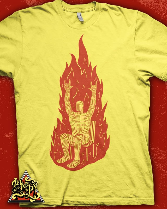 Spontaneous Combustion by nikoby on Threadless