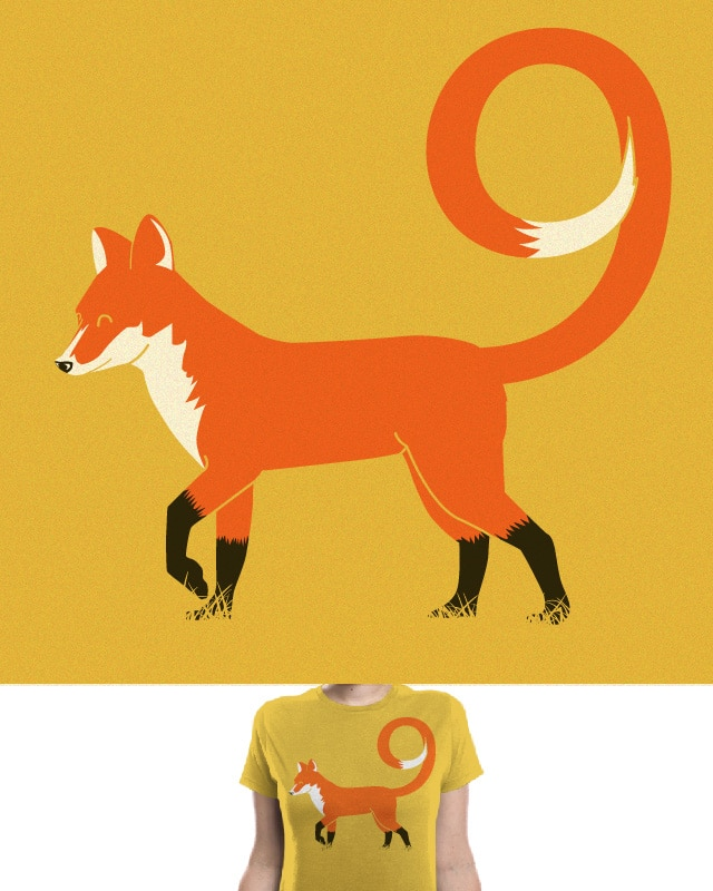 9 Tailed Fox by fathi on Threadless
