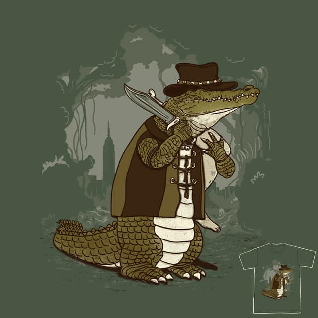 Crocodile Hunter by xiaobaosg on Threadless