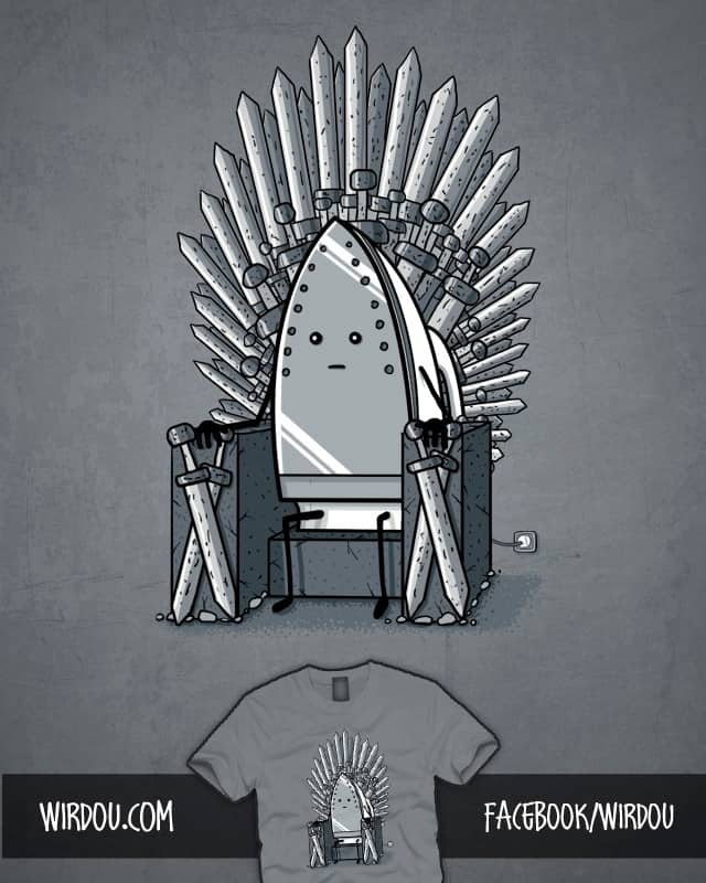 The Iron Throne by Wirdou on Threadless