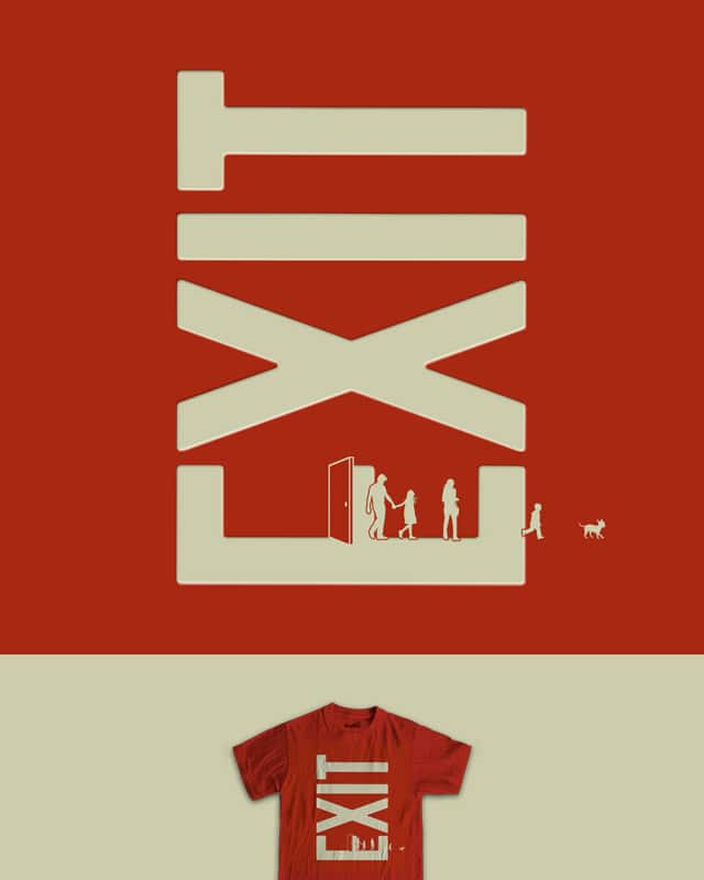 Leaving Home by davidfromdallas on Threadless