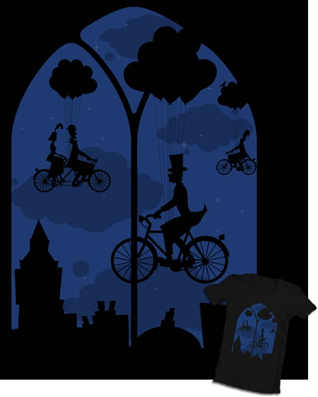 Let's go fly a bike by renduh on Threadless