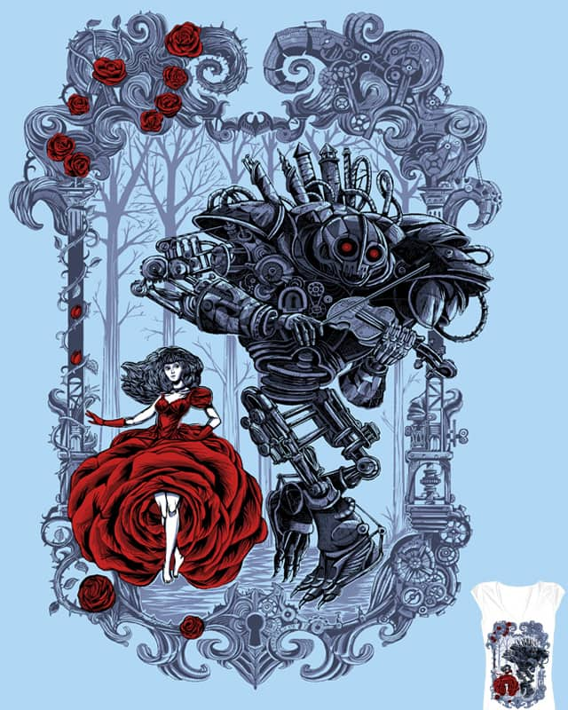 The Beauty And The Iron Beast by malo_tocquer on Threadless