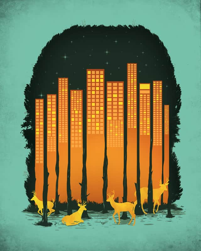 House of City by GOenogo on Threadless