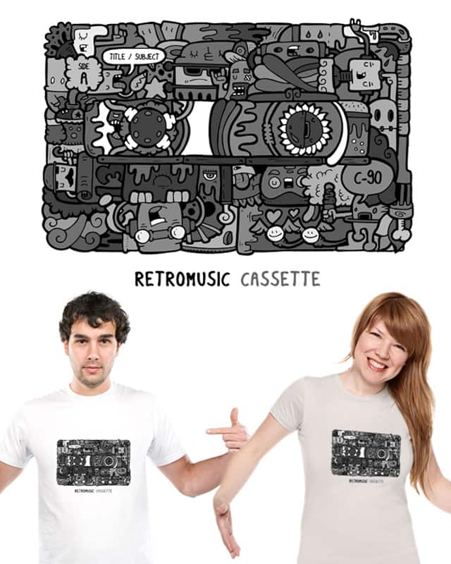 Retromusic cassette by Edu Morente on Threadless