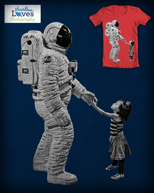 Spaceman Encounter by free_agent08 on Threadless