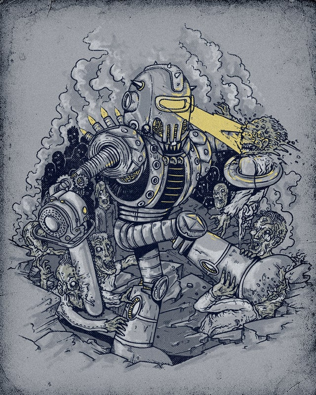 Zombie Exterminator by alexmdc on Threadless