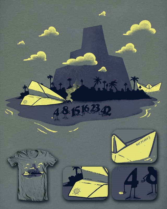 Lost Numbers by ivanrodero on Threadless