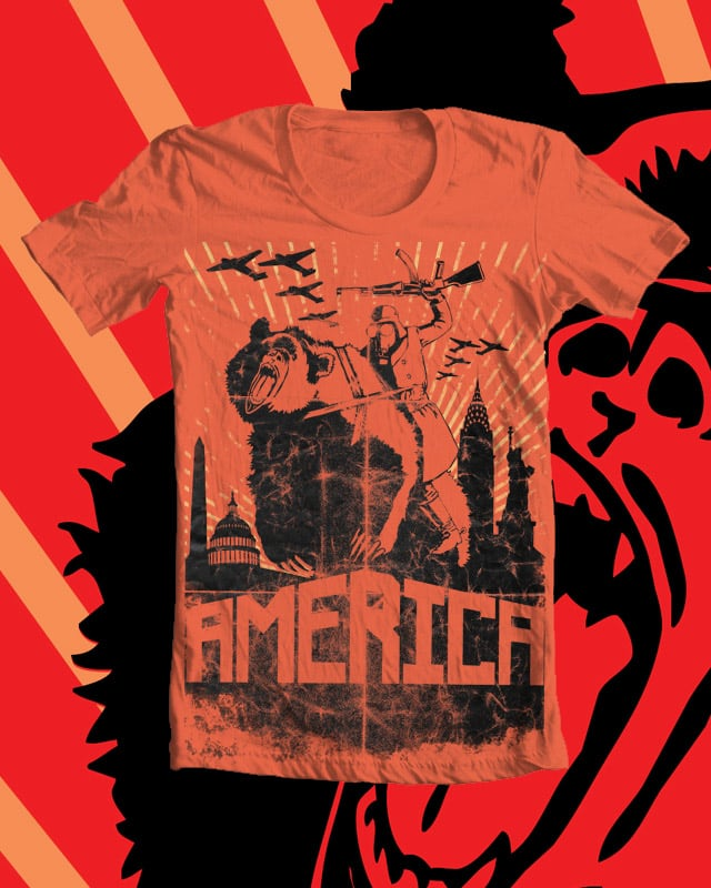 America! by trappjl on Threadless