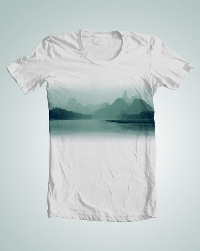 Just like the paintings by azulhoshi on Threadless