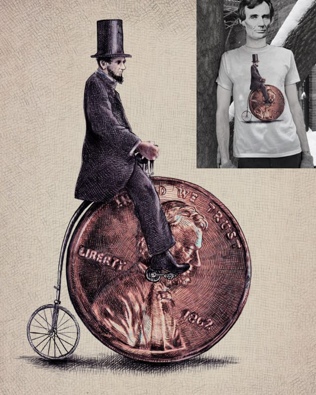 Penny Farthing by opifan64 on Threadless