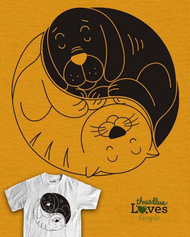 cats and dogs by koedabesi on Threadless