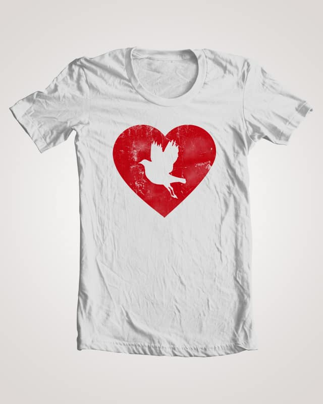 Fly To Your Heart by PabloW92 on Threadless