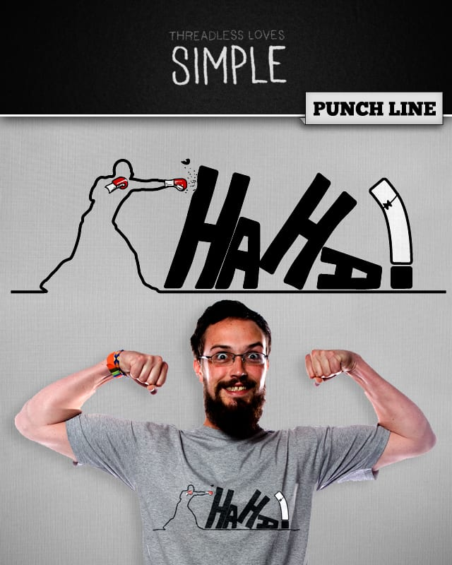 Punch Line by yurilobo on Threadless