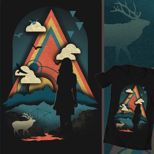 New Worlds by thechild on Threadless