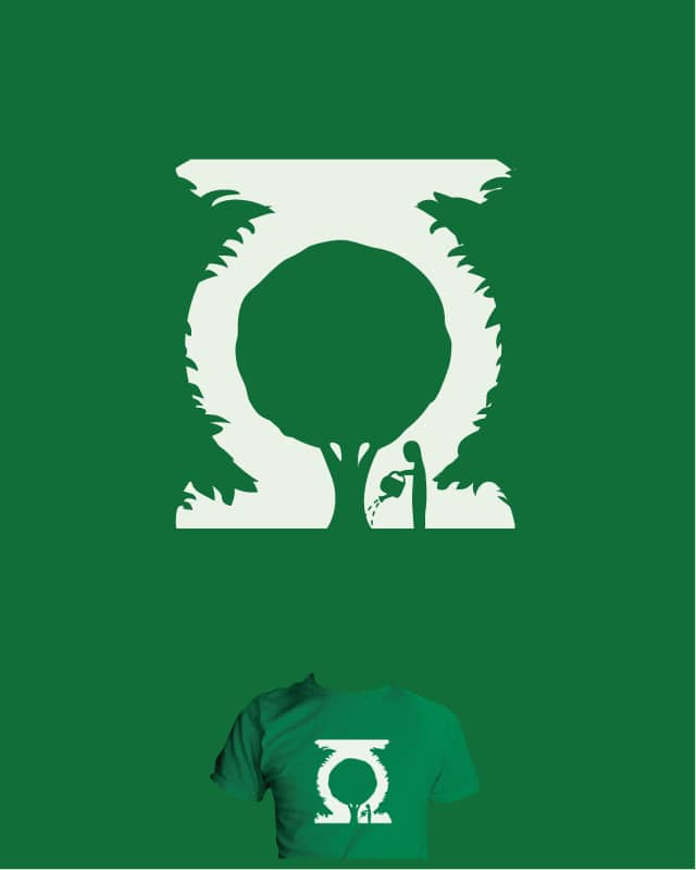 A Greener Lantern by nathanwpyle at gmail.com on Threadless