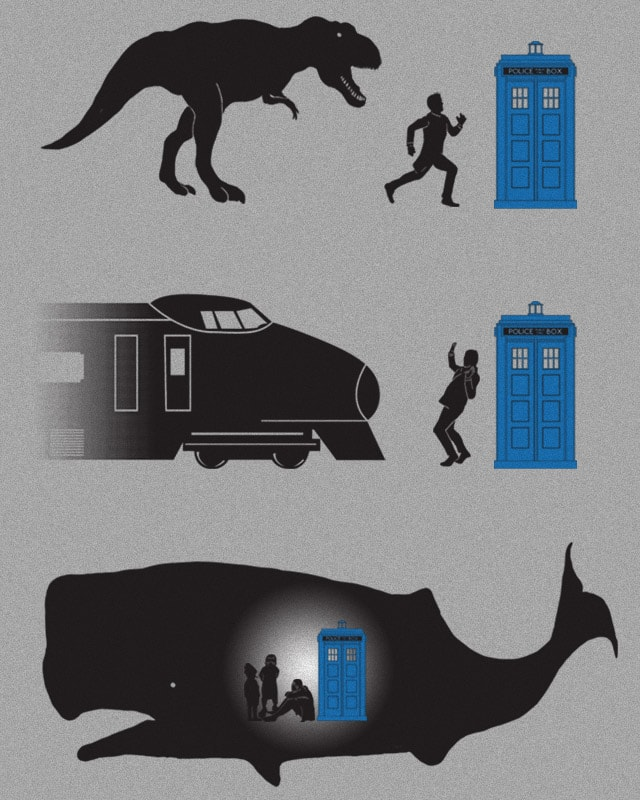 Time Travel Is Dangerous by fathi on Threadless