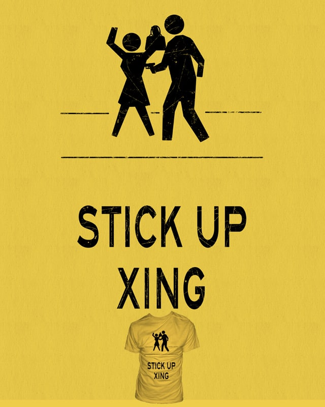 Stick Up by skindapple on Threadless
