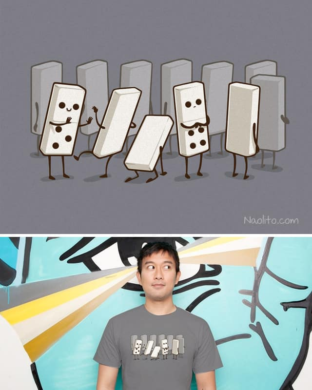 Practical Joke by Naolito on Threadless