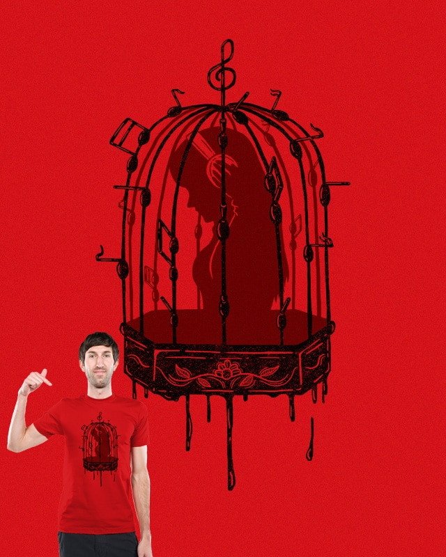 Captivating Tunes by monochromefrog on Threadless