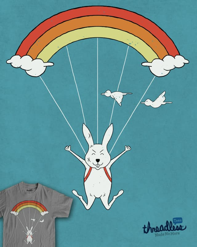 skydiving by koedabesi on Threadless