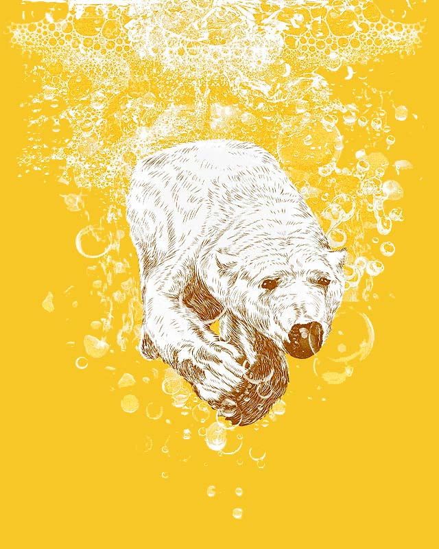 Polar Beer by kooky love on Threadless