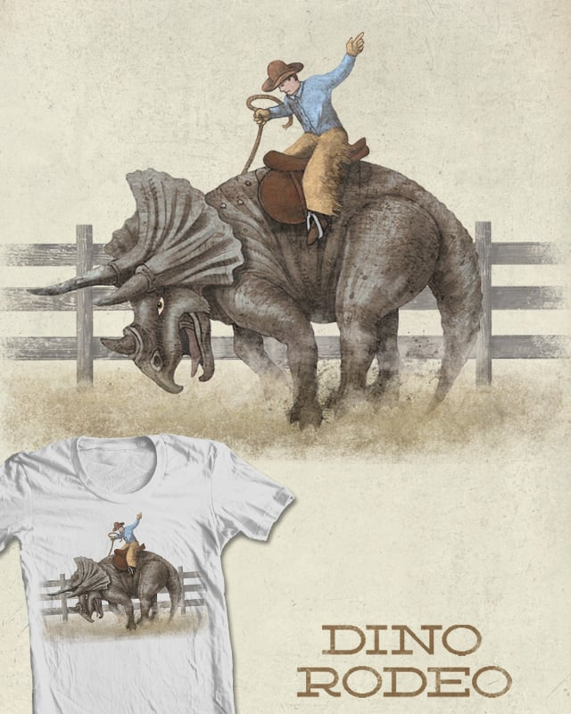 Dino Rodeo by igo2cairo on Threadless