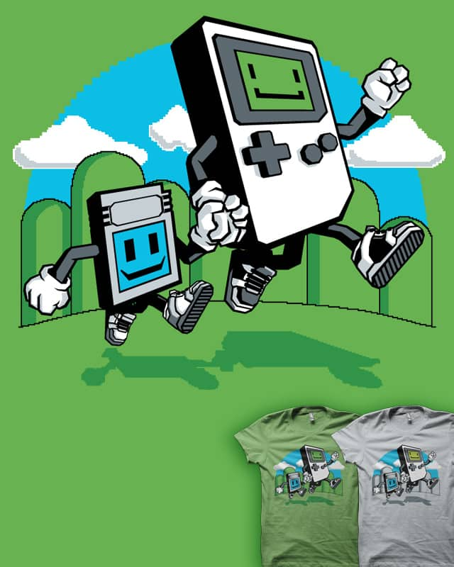 Handheld by MEKAZOO on Threadless