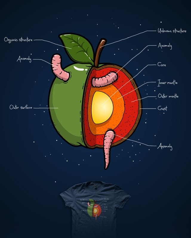 Apple Core by R-evolution GFX on Threadless